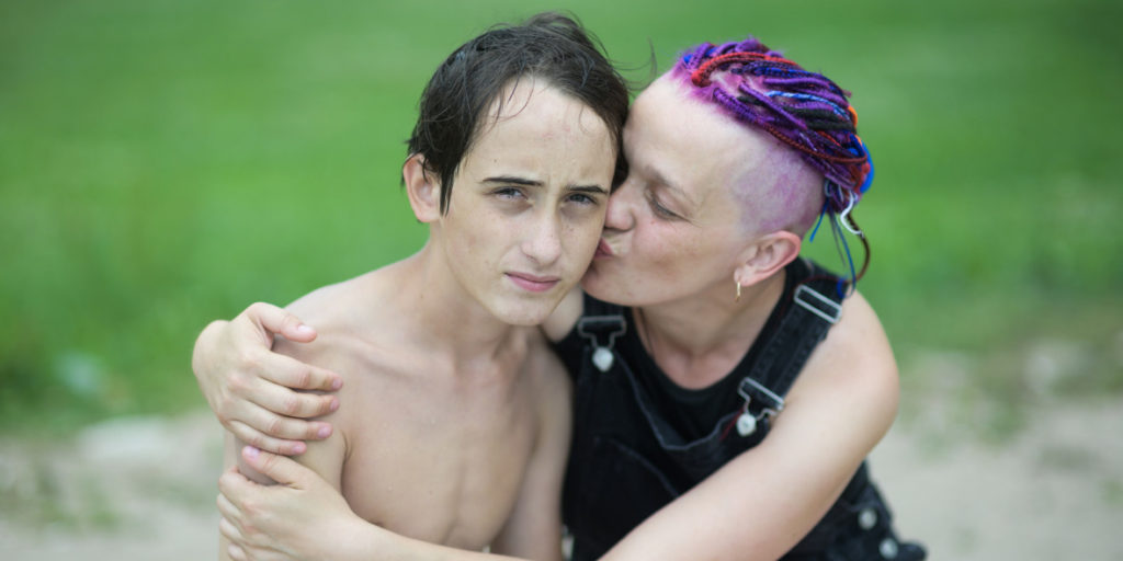 Svetlana and son